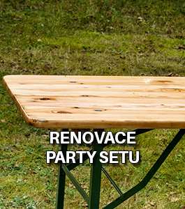 Renovace party setu