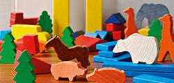 Čím natřít hračky pro děti